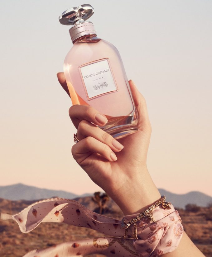 Coach takes a road trip with new fragrance 'Coach Dreams'