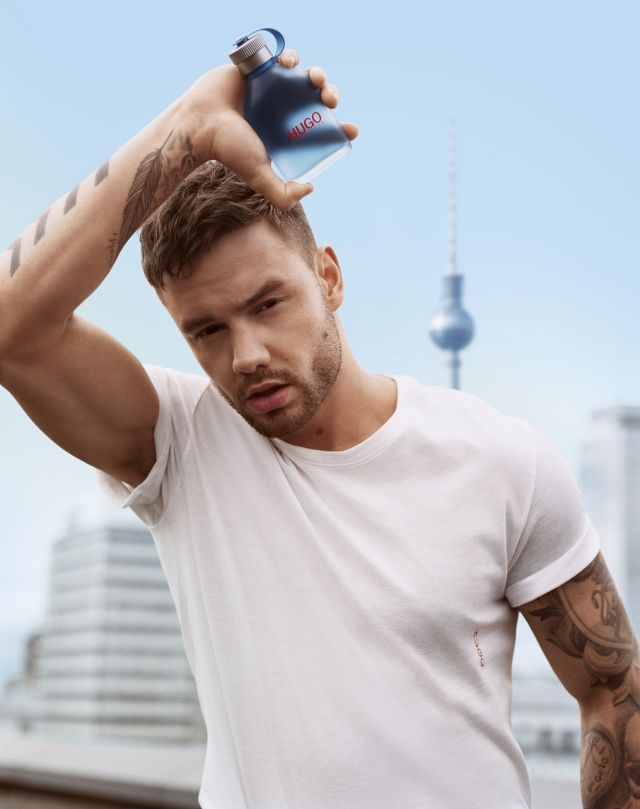Liam Payne is NOW the new Boss for Hugo fragrances