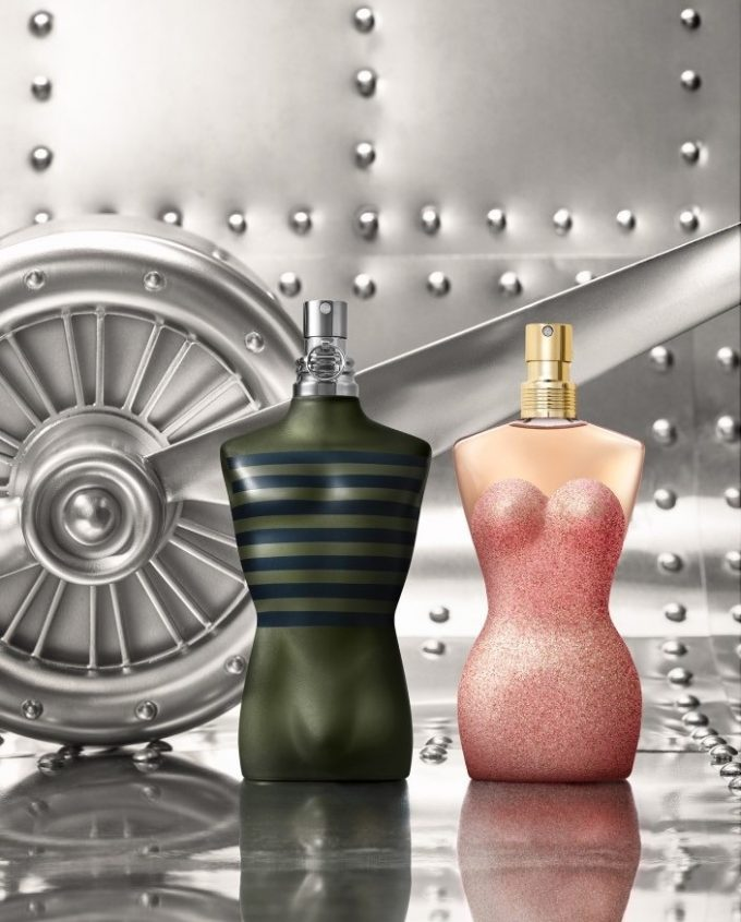 FIRST LOOK: Jean Paul Gaultier reveals limited edition Classique Pin Up and Le Male Aviator scents