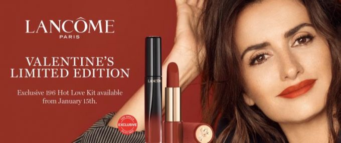 The Shilla Duty Free and Lancôme capture hearts with limited edition lipsticks