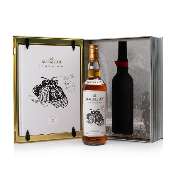 "The Macallan unveils latest addition to Folio Archival Series – in honour of The ""Luggy Bonnet"""
