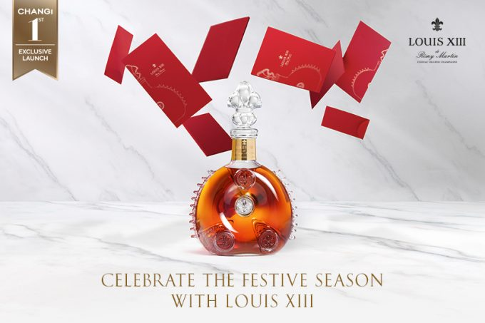 LOUIS XIII gifts a luxury experience to travellers at Singapore Changi Airport