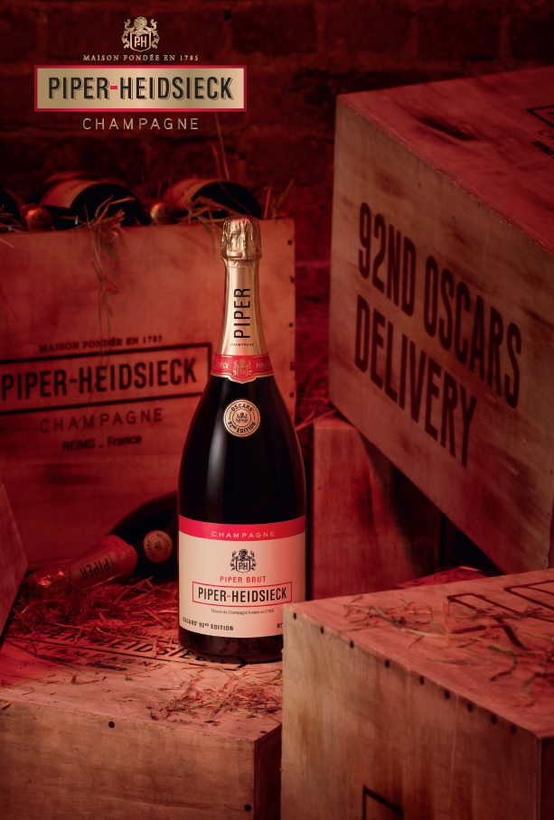 Piper-Heidsieck is red carpet ready for Oscars night with special 'Prohibition' edition