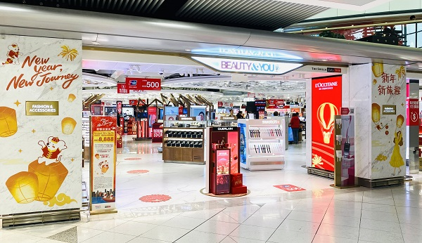 Beauty&You wows New Year travellers at Hong Kong International