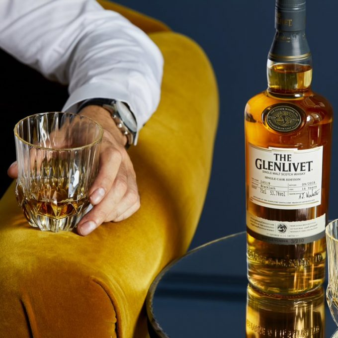 The Glenlivet reveals a new Single Cask Edition whisky collection exclusive to duty-free