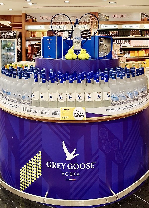 Grey Goose toasts the Dubai Duty Free Tennis Championships with limited edition exclusive