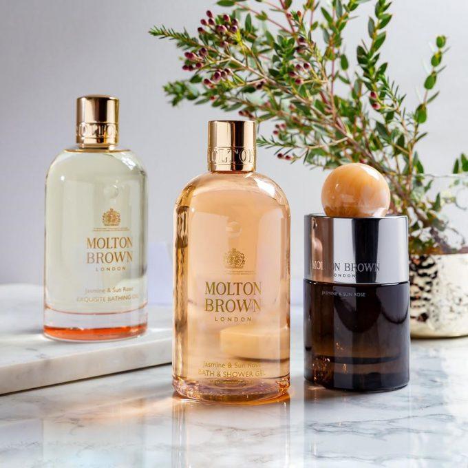 Molton Brown debuts new Jasmine & Sun Rose Eau de Parfum in duty-free