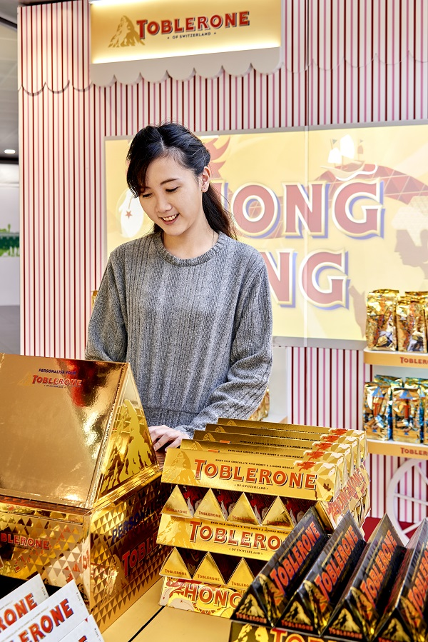 How Toblerone's personal touch at the airport is boosting sales