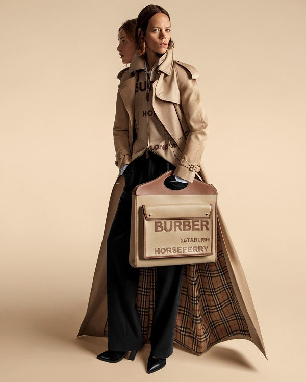 Burberry's new attitude on show as SS20 collection is released