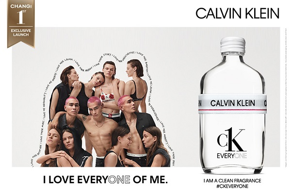 CK for EVERYONE: CK pops up with Fragrance x Underwear event at Singapore Changi