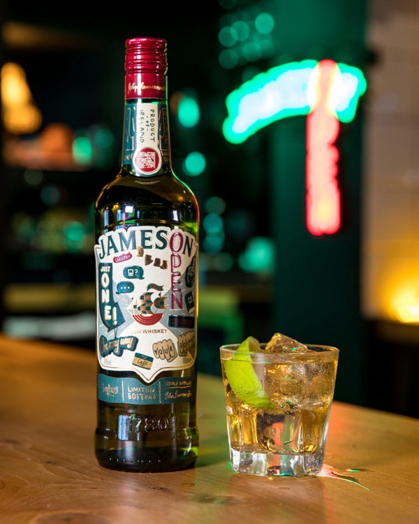 Jameson unveils its St. Patrick's Day 2020 limited edition bottle (with connected tech)