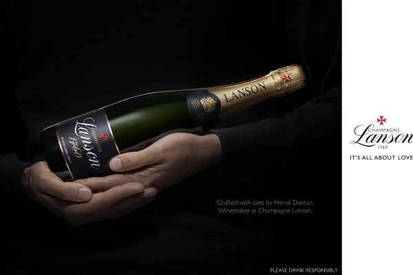 'It's All About Love' – Champagne Lanson reveals its new look