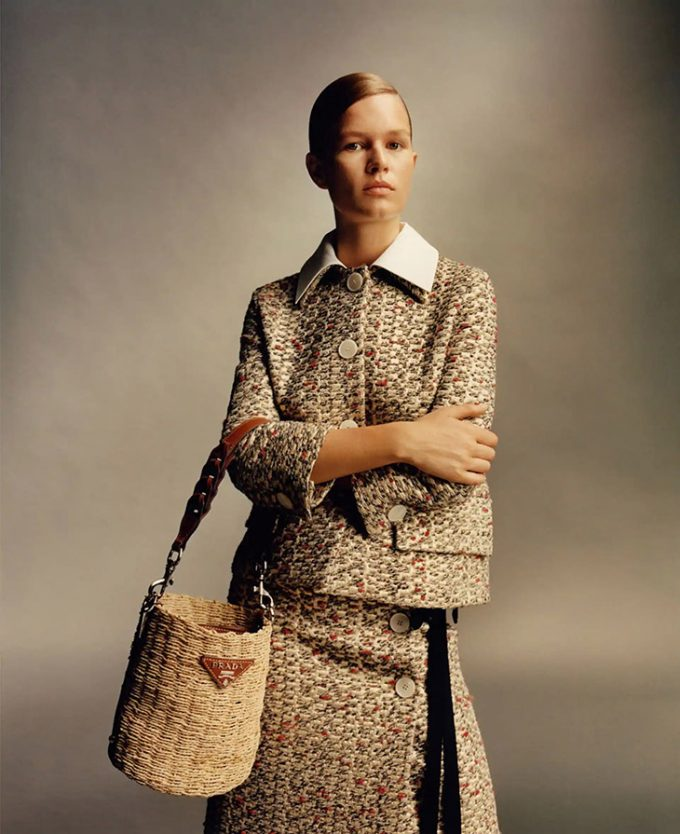 PRADA spells it out in new campaign for Spring