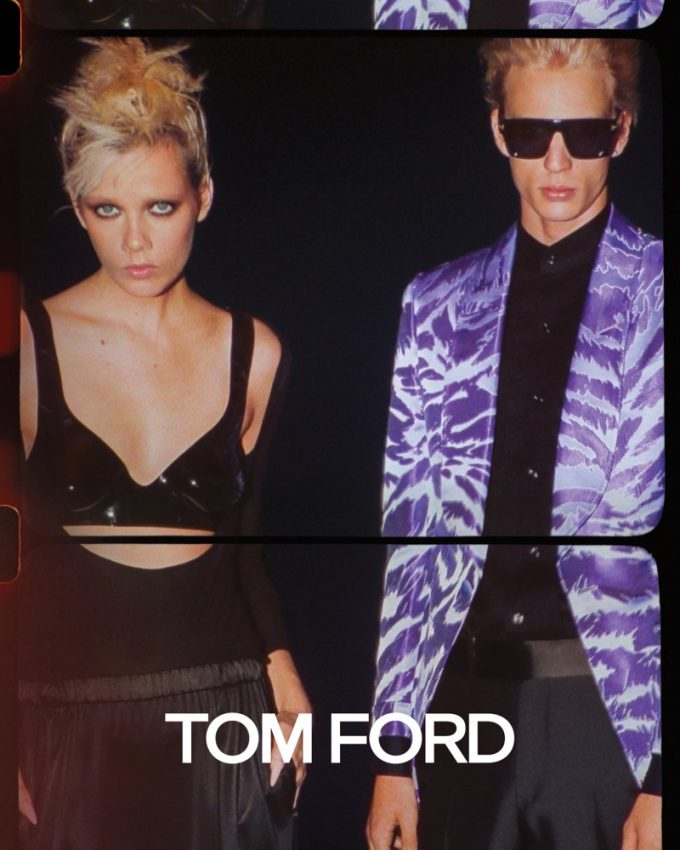Tom Ford takes a trip to the 80s with new campaign