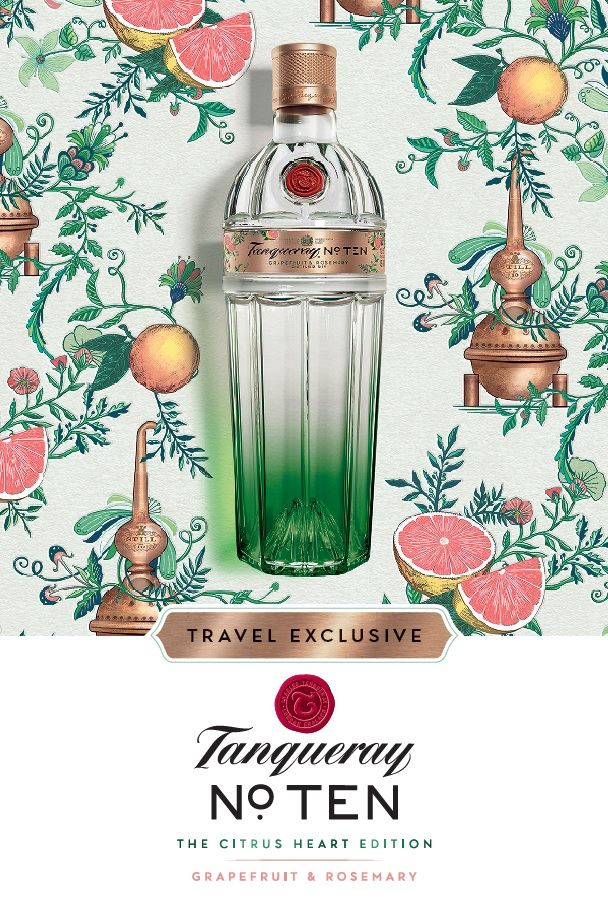 Tanqueray No. Ten unveils Citrus Heart Edition – available exclusively in duty free