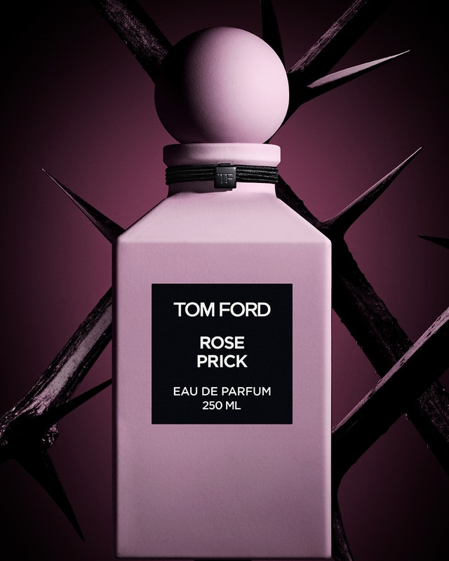 Flesh. Petals. Thorns. Tom Ford gives duty-free debut to new Rose Prick scent