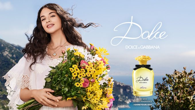 NEW: Dolce & Gabbana reveals Dolce Shine: A new golden flower in the Dolce Giardino