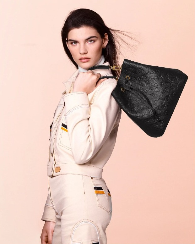 Louis Vuitton NéoNoé bags get the Monogram Empreinte treatment