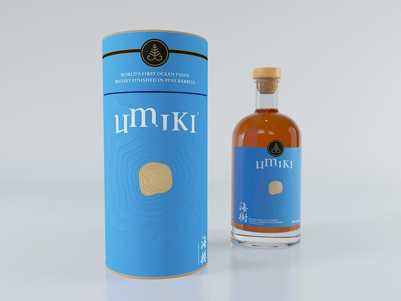 Umiki, the world's first Ocean-fused sustainable Whisky splashes in from Japan