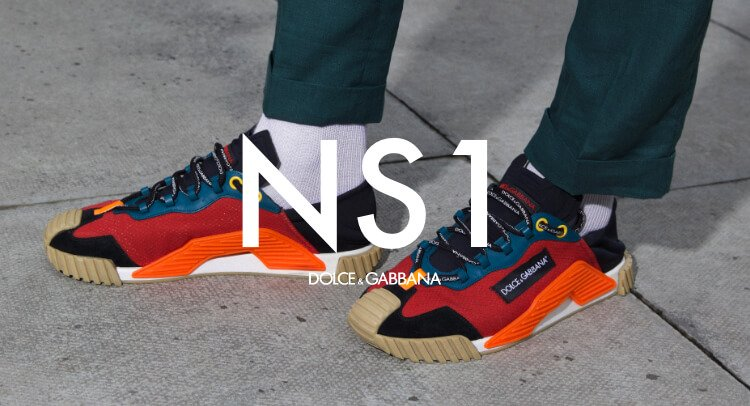#Followyourgroove with the new NS1 Sneakers from Dolce & Gabbana