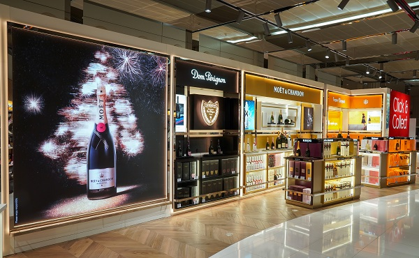Dubai Duty Free and Moët Hennessy add fizz to arrivals at Dubai International