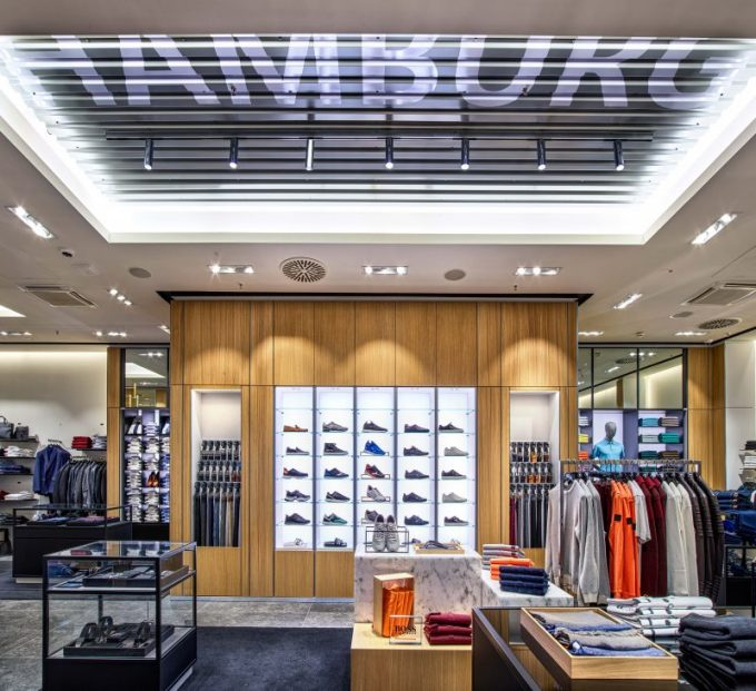 BOSS ❤️ HAMBURG: New concept store opens at Hamburg Airport