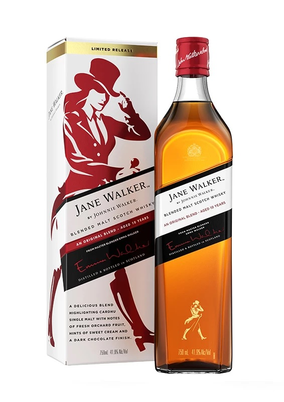Johnnie Walker celebrates pioneering women with new Limited Edition Jane Walker bottling