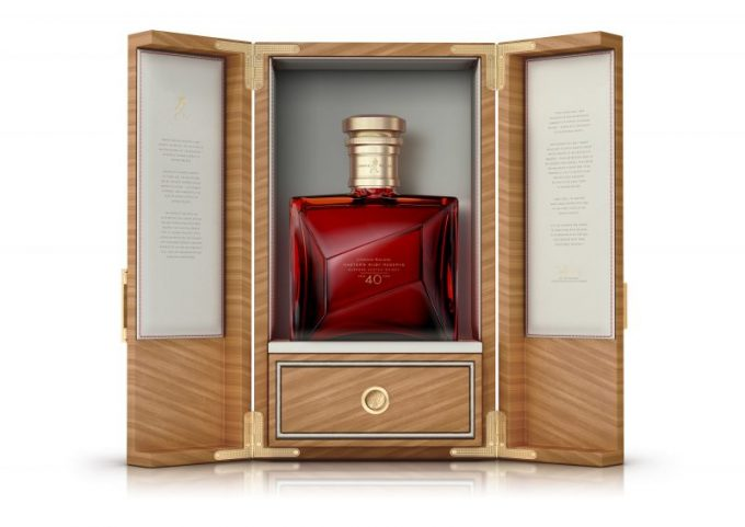Johnnie Walker unveils Master's Ruby Reserve: Extremely Limited Edition Whisky celebrating Master Blender Jim Beveridge's 40th Anniversary