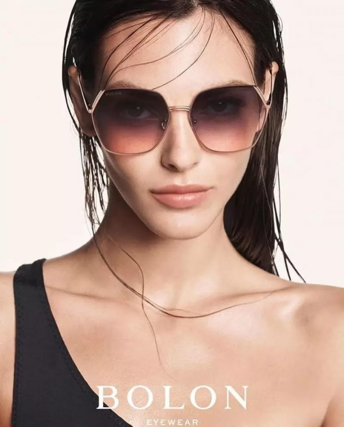 Vittoria Ceretti stars in Bolon Eyewear's new campaign
