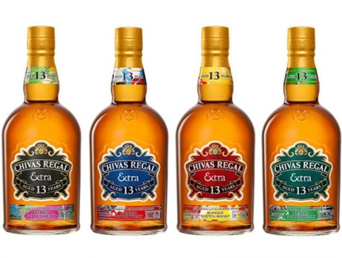 Chivas Regal launches four 13 year old whiskies – all with Extra flavour