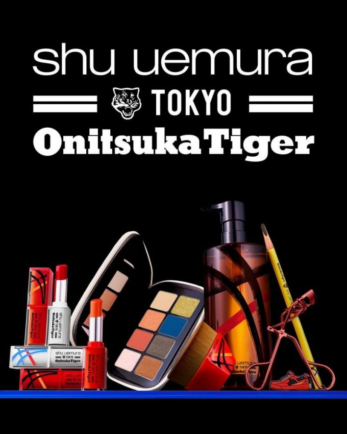 Shu Uemura x Onitsuka Tiger beauty collab is under starter's orders