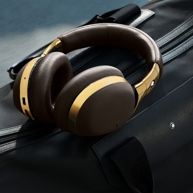 Travel Smarter, Hear Sharper - Montblanc launches Wireless Over-Ear Headphones