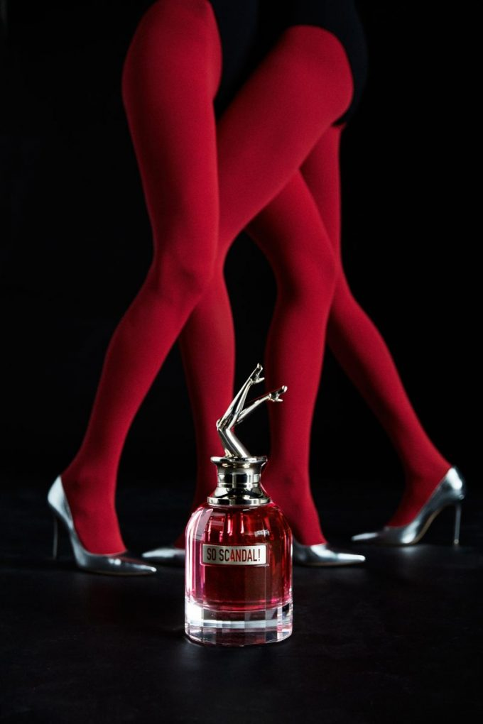 The very essence of a scandal! Jean Paul Gaultier reveals new So Scandal! scent