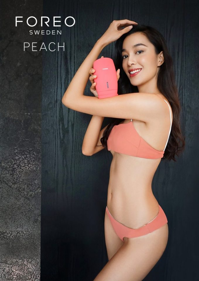 FOREO gets peachy at Korea's Hyundai Duty Free