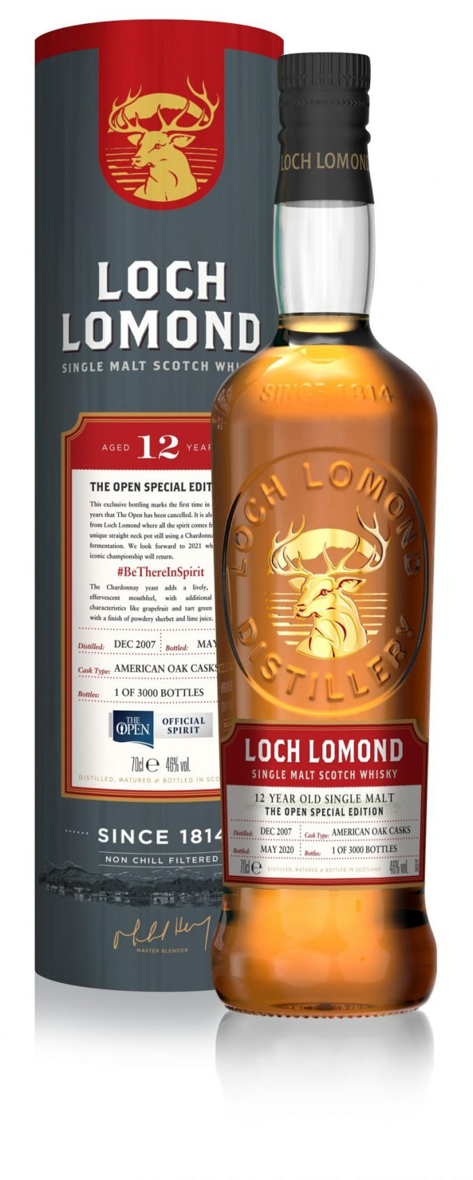 Loch Lomond releases a very special limited edition Whisky to celebrate The Open that never was