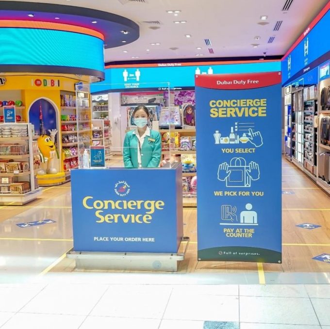 Dubai Duty Free unveils concierge service as DXB reopens
