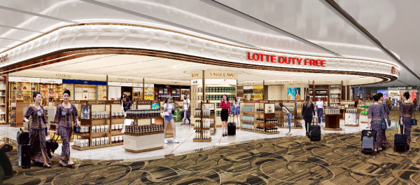 Lotte Duty Free takes over as liquor and tobacco concessionaire at Changi Airport