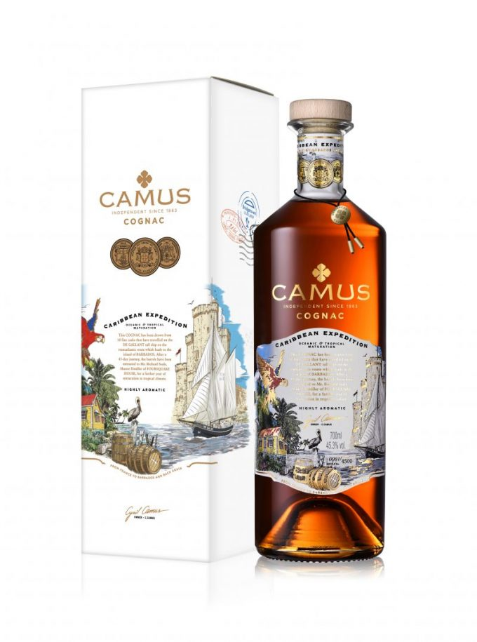 CAMUS sets sail with limited edition Caribbean Expedition small batch Cognac