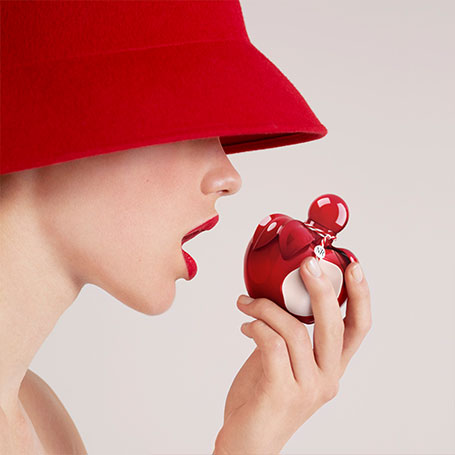 Nina Ricci launches Nina Rouge, a perfume to be crunched…