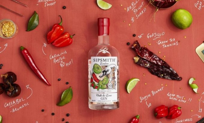 Sipsmith Gin gets us sipping with new Chilli & Lime limited edition