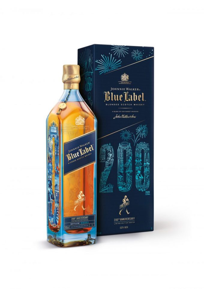 Johnnie Walker celebrates 200th anniversary with four exclusive releases