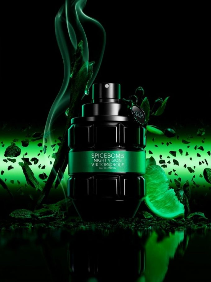 Viktor & Rolf explodes Spicebomb Night Vision with new edition