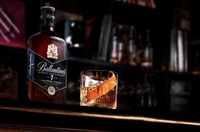Ballantine's blends Scottish spirit with American attitude for the launch of Ballantine's 7 Bourbon Finish
