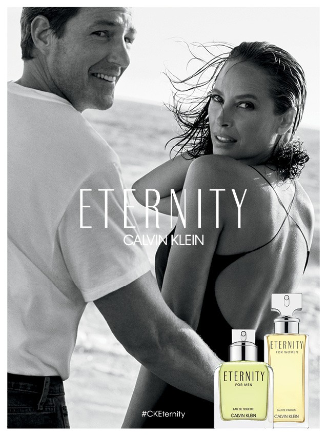 Christy Turlington returns to front new ETERNITY CALVIN KLEIN campaign