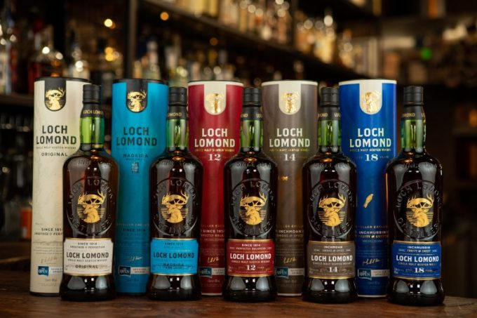 Loch Lomond Whiskies reveal a stylish new look for duty-free