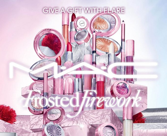 MAC lights up a Frosted Firework makeup collection for the 2020 Holiday season