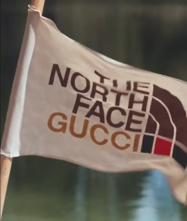 GUCCI is going on an adventure with The North Face
