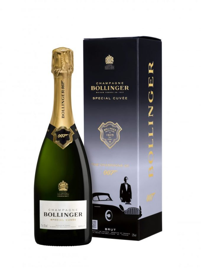 Bond is Back – Bollinger launches Special Cuvée Limited Edition 007