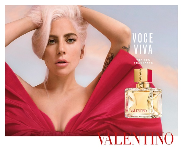 Valentino (and Lady Gaga) bring new VOCE VIVA fragrance to life in duty-free at major airports