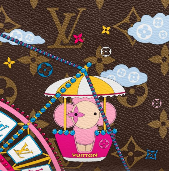 Louis Vuitton's Vivienne heads to the fair for Christmas fun